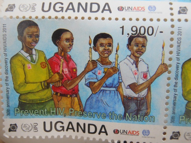 Ugandan stamp