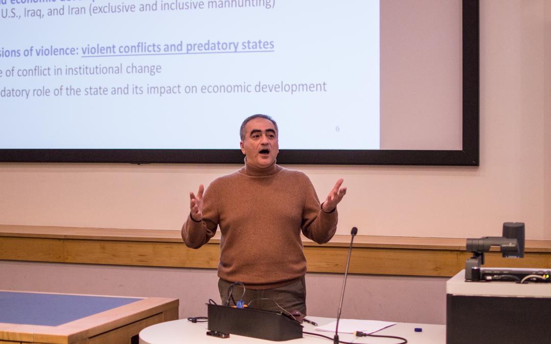 GDI Lecture Series: Predatory states and Economic development with Professor Mehrdad Vahabi