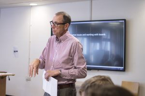 David King, Chair of the Board of Trustees RETRAK