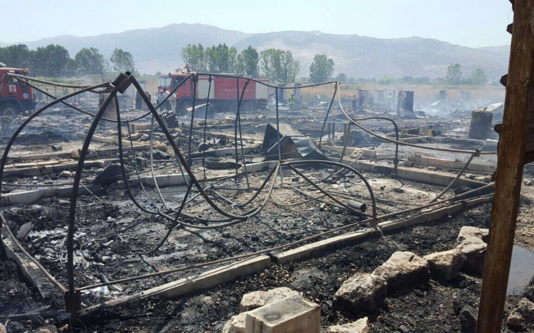 Operation Florian in Lebanon: gendering fire risk among refugees