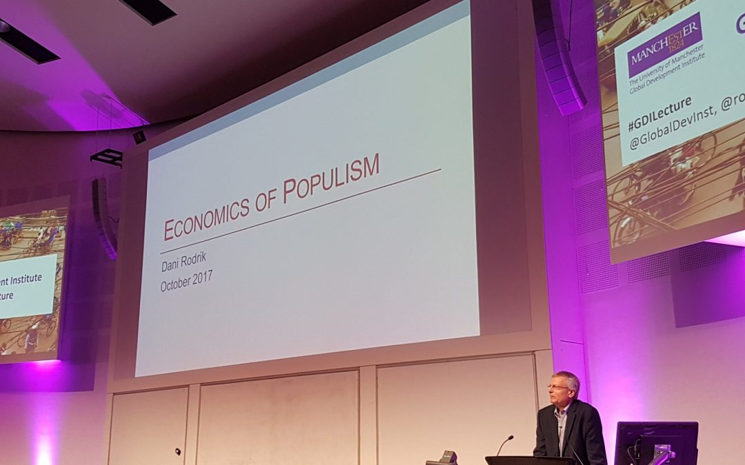 GDI Lecture Series: economics of populism with Prof Dani Rodrik