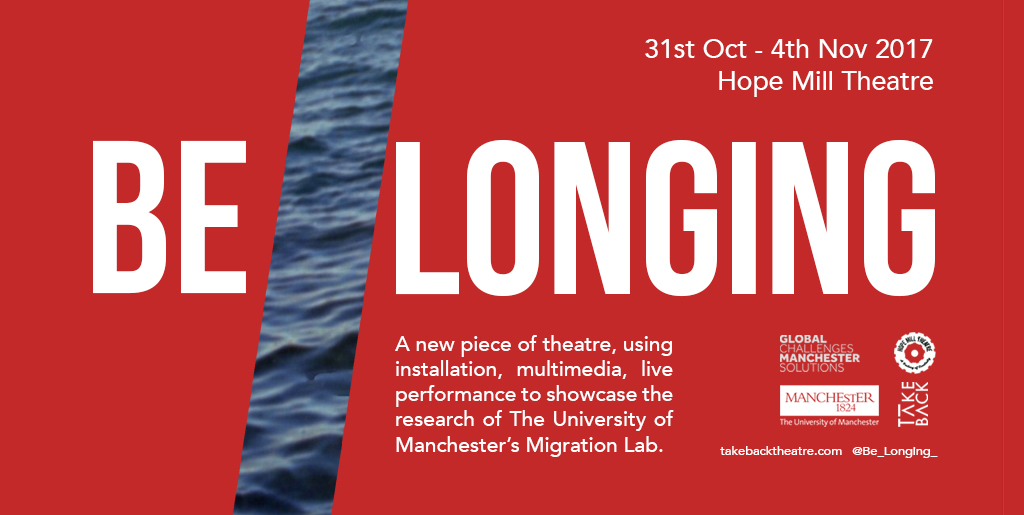Creating a sense of belonging: How theatre gave our migration research a home