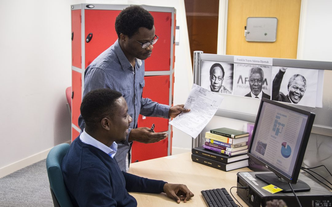 Study for a master's degree at the Global Development Institute