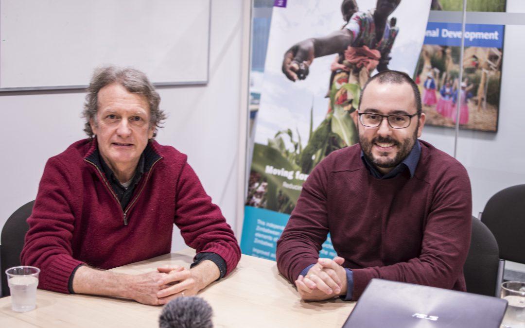 In Conversation: Professor Bill Ferguson and Dr Pablo Yanguas