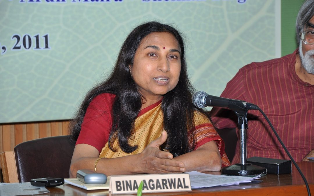 GDI Lecture: Agrarian crises, institutional innovation and gender with Bina Agarwal