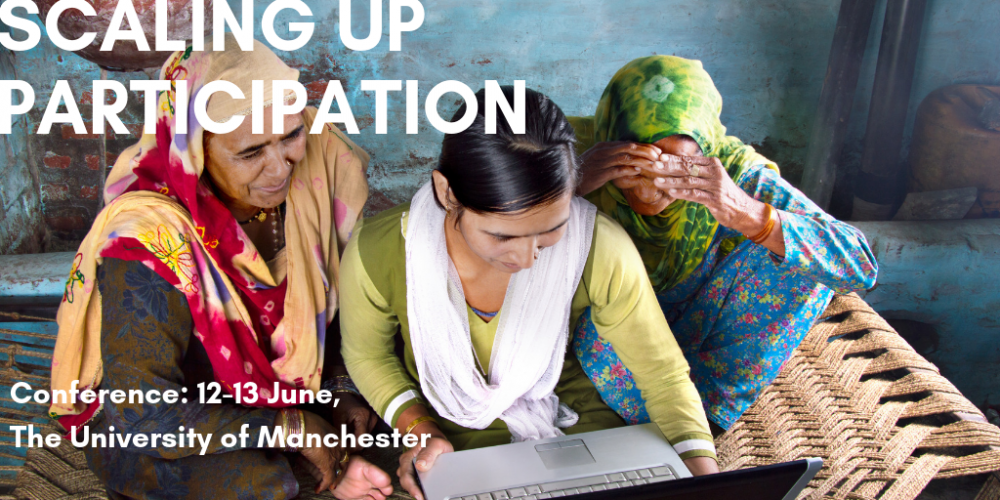 Scaling up participation: conference