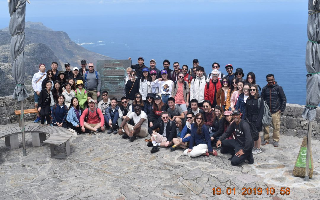 Fieldwork in Cape Town South Africa: our experience Development Informatics group 2019