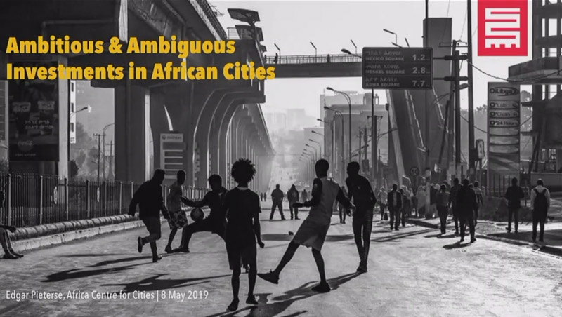 GDI Lecture: Ambitious and ambiguous public investments in African cities with Edgar Pieterse