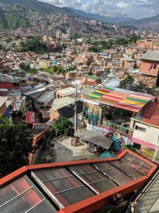 Escaleras Electricas in Comuna Trece.