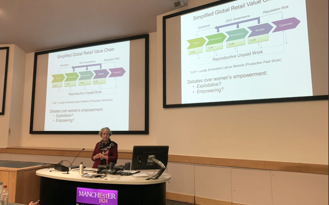 GDI Lecture: Gender and work: capturing the gains in Global Value Chains with Stephanie Barrientos